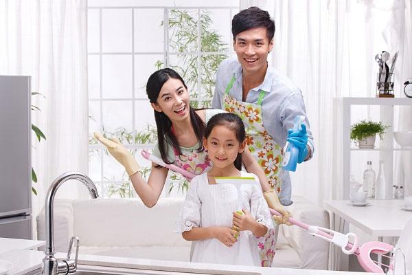 bí quyết giữ nhà sạch