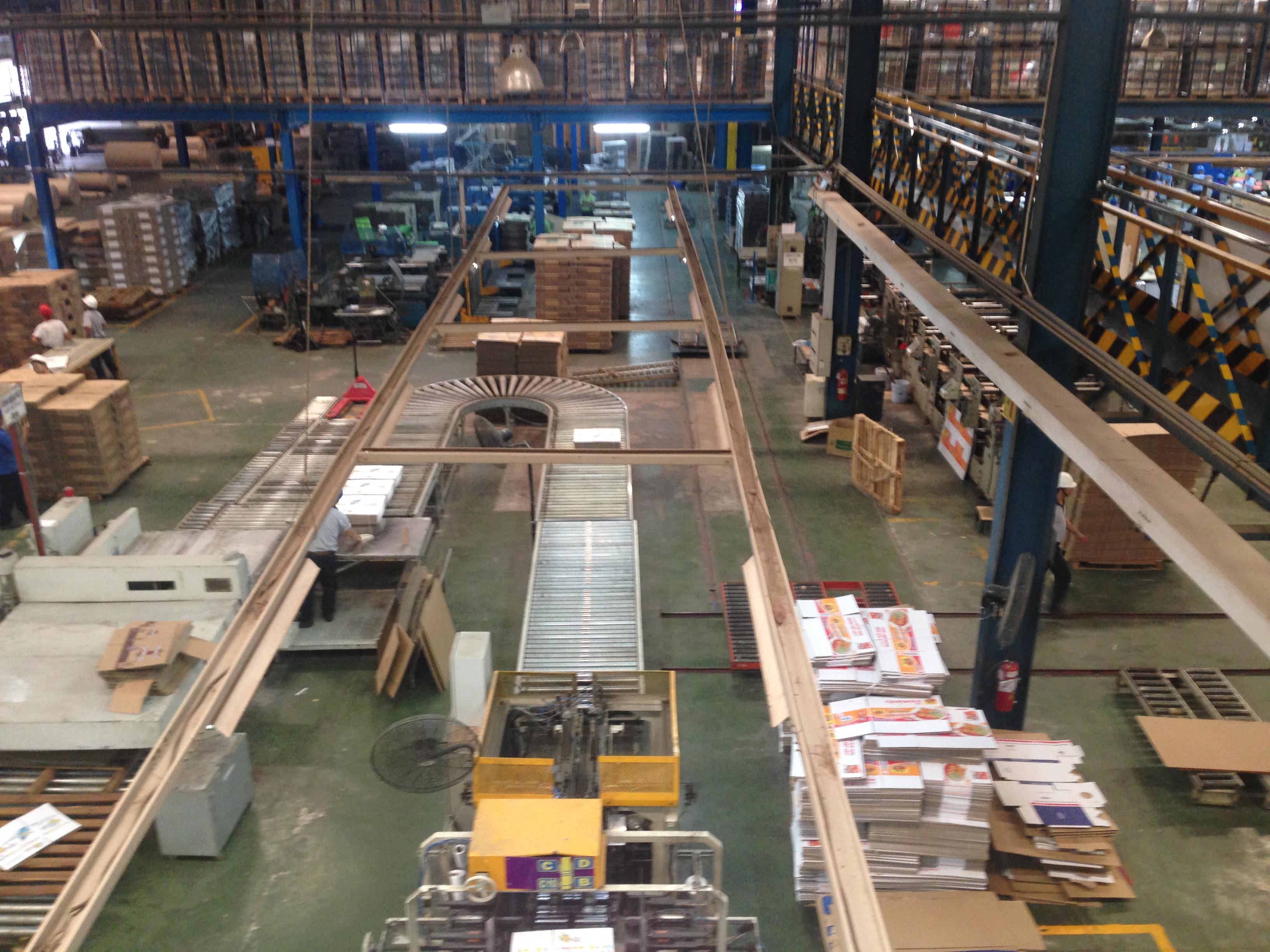 Dịch vụ vệ sinh xưởng sản xuất