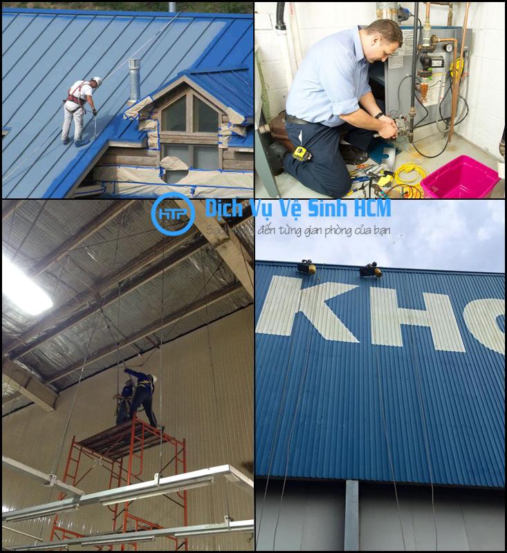 Dịch vụ sửa chữa nhà xưởng uy tín