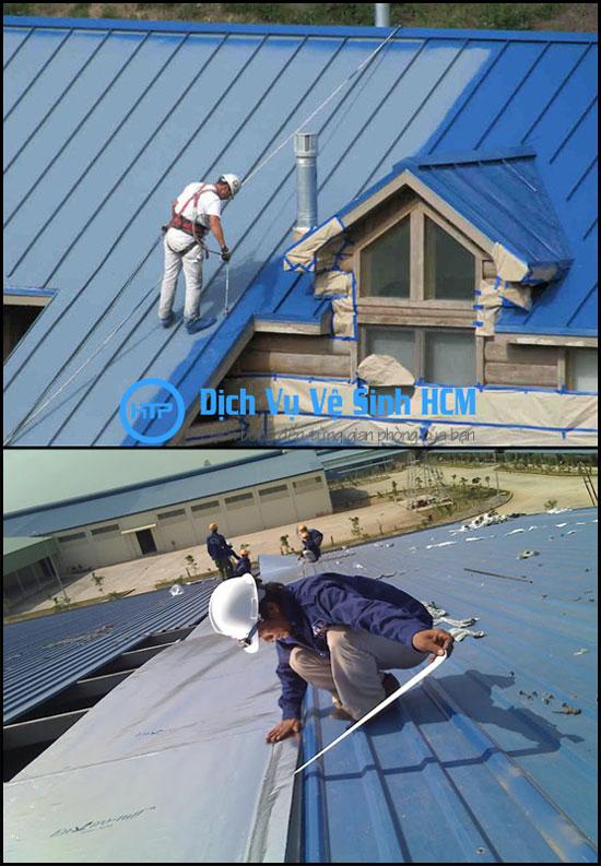 Thi công sửa mái tôn nhà xưởng