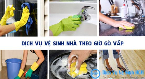 Dịch vụ vệ sinh nhà theo giờ